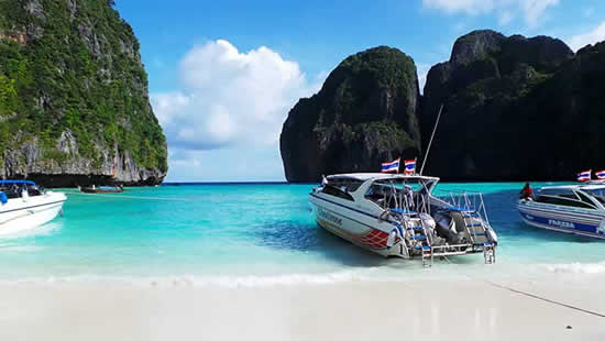 Vicino a Phuket