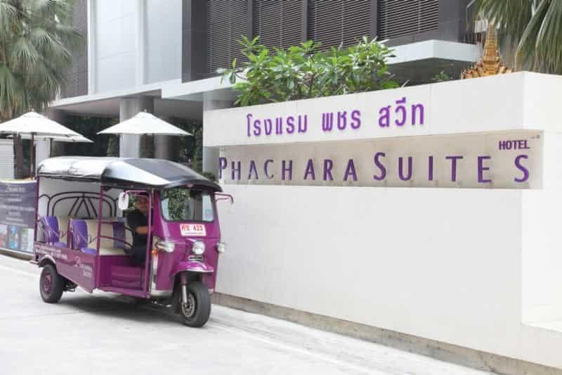 Bangkok Hotels - Phachara Suites Sukhumvit – Esterno