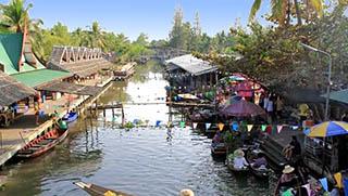 Mercato galleggiante di Bangkok