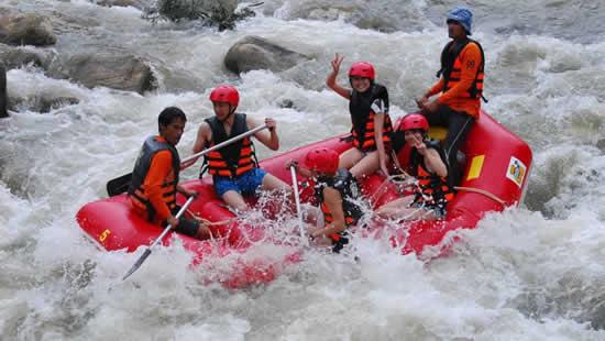 Rafting a Khao Lak