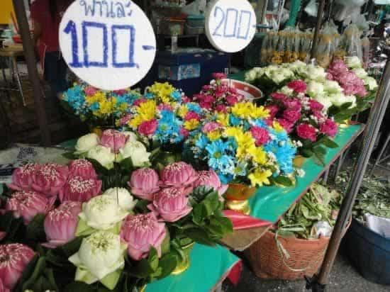 bangkok wat arun mercato fiori