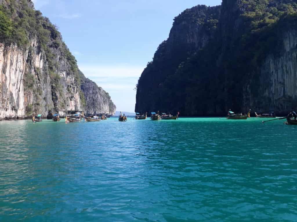 Vista da Koh Phee