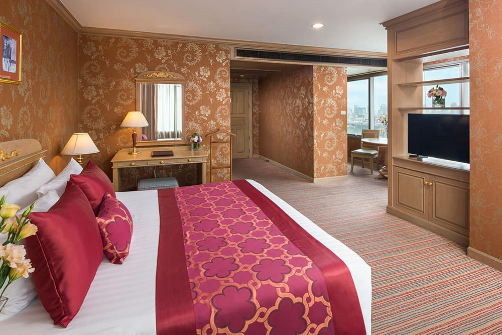 Bangkok Hotels - Prince Palace Hotel Deluxe Room