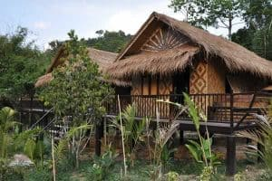 Krabi Hotels - Wareerak Hot Spring - Bamboo Cottage