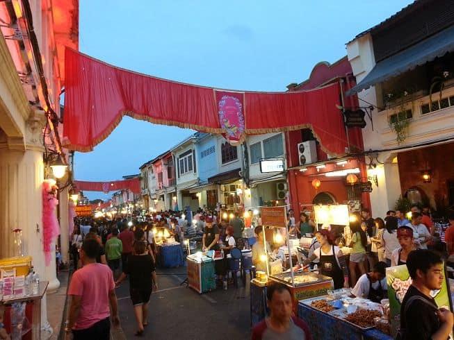 Mercato Notturno a Phuket Town