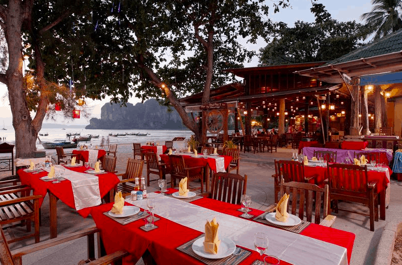 Krabi Hotels - Sand Sea Resort - Ristorante