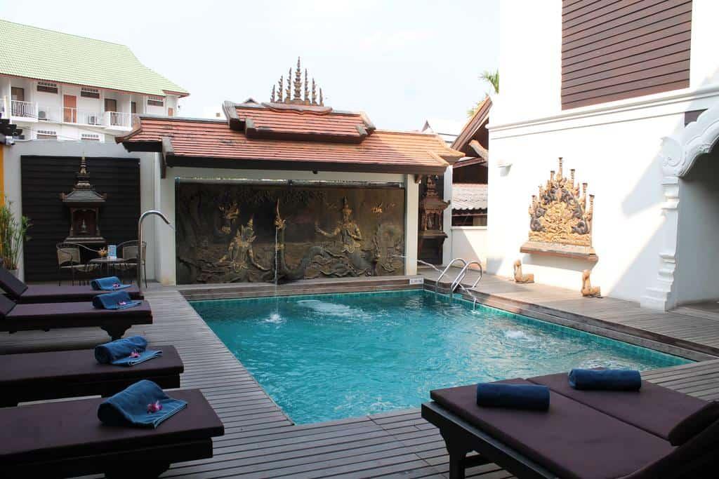 De Naga Chiang Mai - Piscina