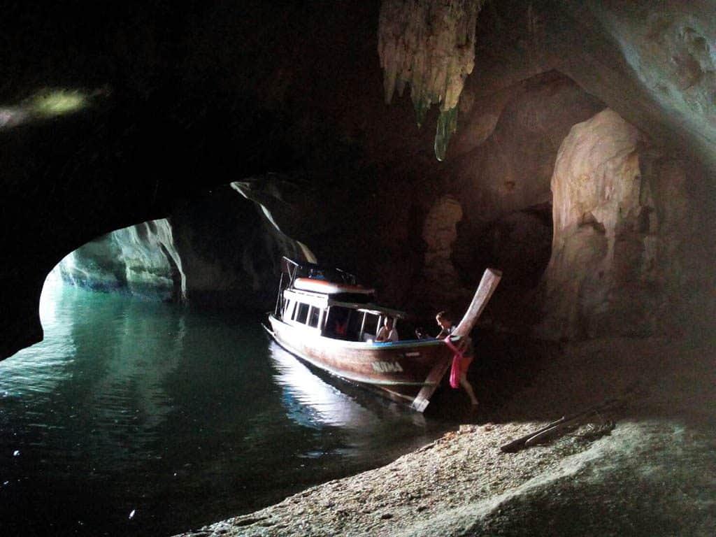 Grotta a Phang Nga