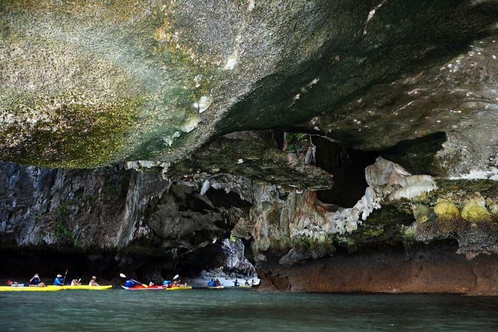 Laguna alla baia di Phang Nga