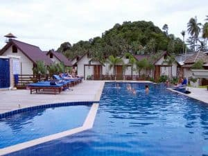 Phi Phi Casita Hotel- Piscina