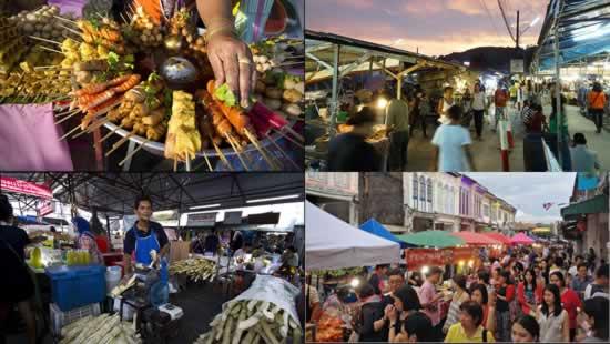 Mercato Serale a Phuket Town - Tours Esclusivi a Phuket